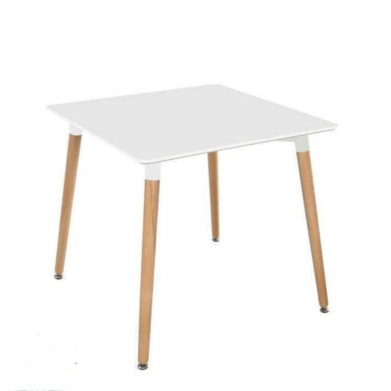 میز مربع پایه کنار 90*90