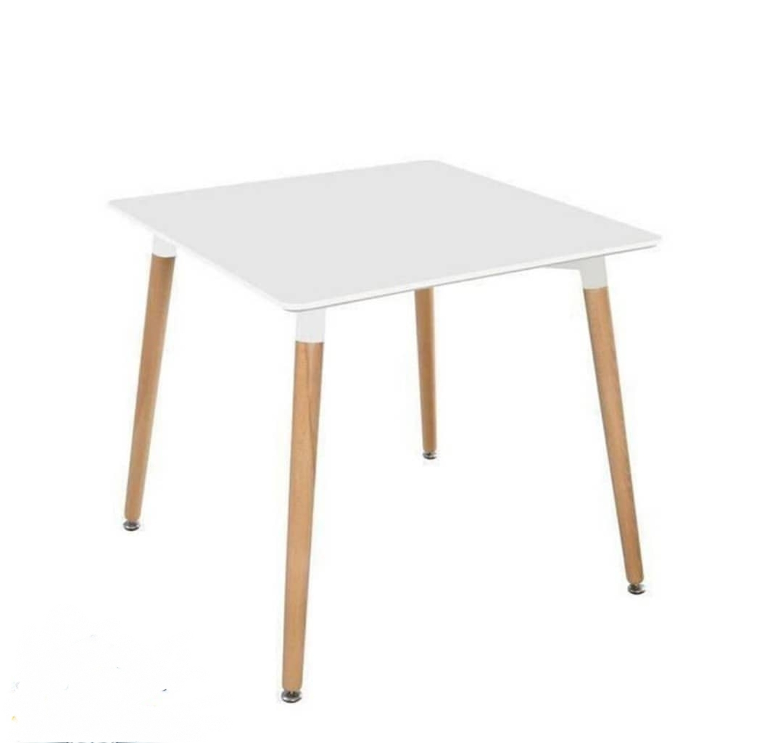 میز مربع پایه کنار 80*80