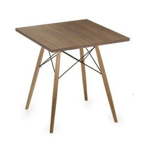 میز مربع پایه ایفلی 80*80