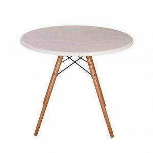 میز گرد پایه ایفلی قطر 60 (1 و 2 نفره)