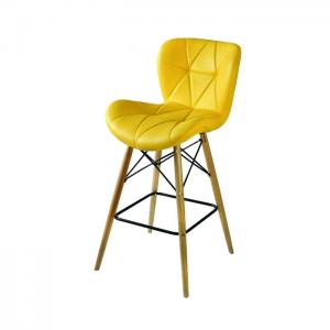صندلی کانتر پارچه ای صدفی